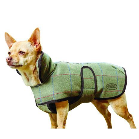 WeatherBeeta Tweed Dog Coat II - Green