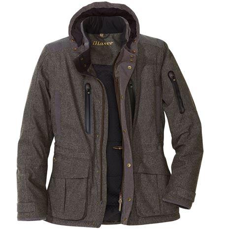 Blaser Graphite Jacket - Grey Brown Mottled