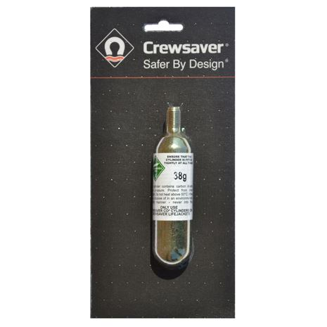 Crewsaver Replacement CO2 Cylinders - 10034 - 38g