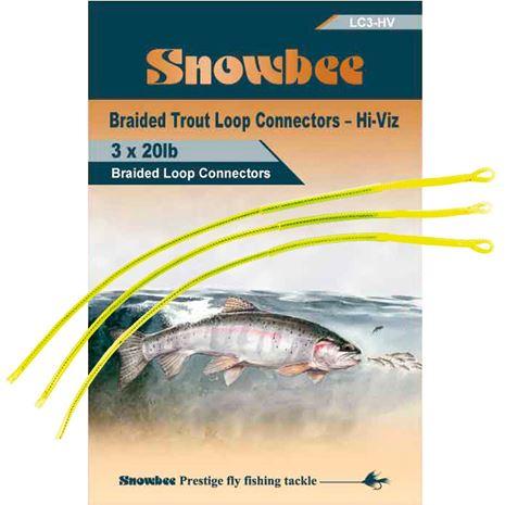 Snowbee Loop Connectors - Hi-Viz