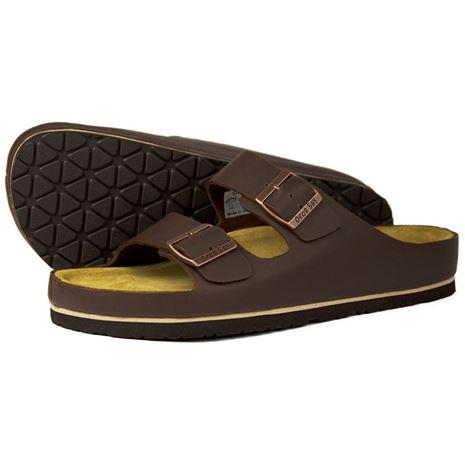 Orca Bay Saba Men's Sandals in Dark Brown.