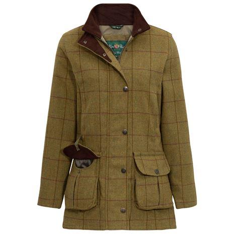 Alan Paine Rutland Ladies Waterproof Jacket - Lichen
