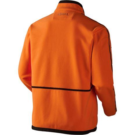 Harkila Kamko Reversible Fleece - Rear Hunting Green /Orange Blaze