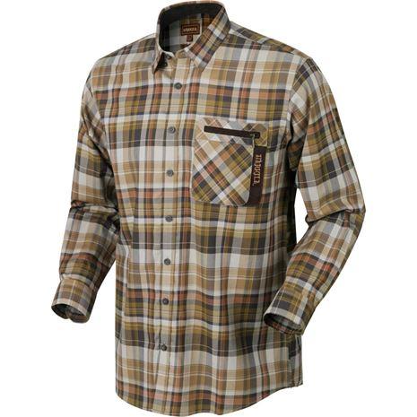 Harkila Newton Checked Shirt - Tapenade Check