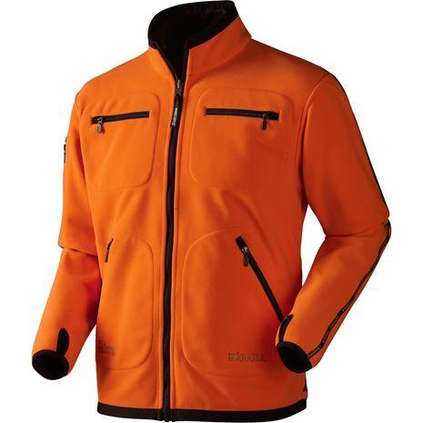 Harkila Kamko Reversible Fleece - Hunting Green /Orange Blaze