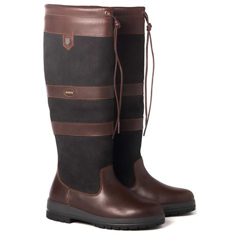 Dubarry Galway Boot - Black Brown