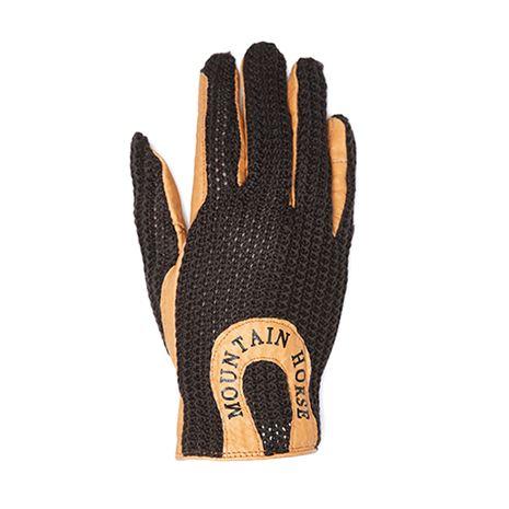 Mountain Horse Crochet Glove II - Coffee Brown