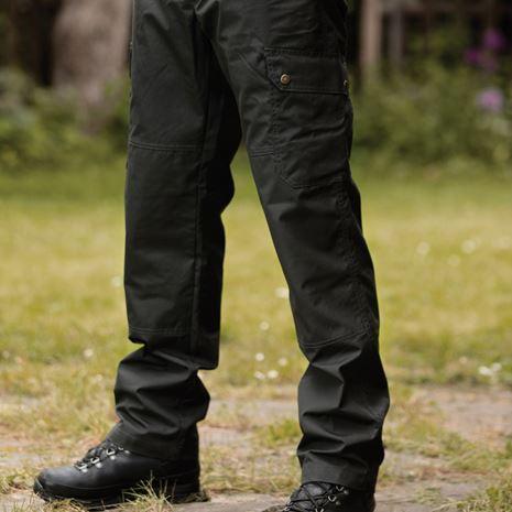 Deerhunter Lofoten Trekking Trousers - Black Ink - Lifestyle