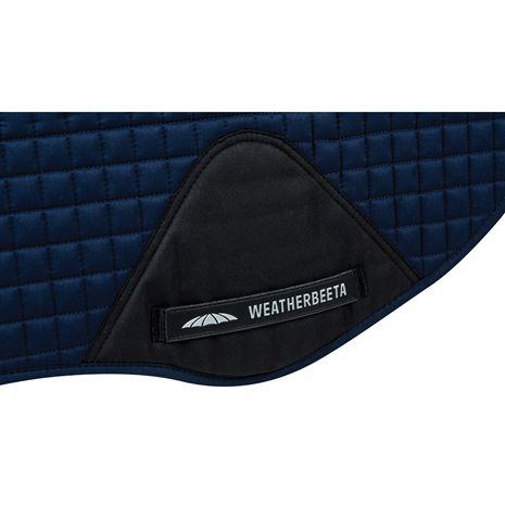 WeatherBeeta Prime All Purpose Saddle Pad - Navy - Girth patch