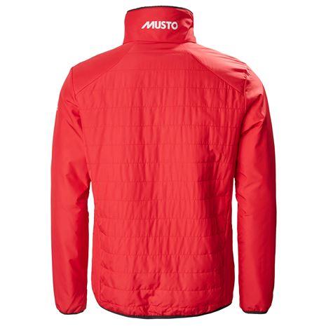 Musto Corsica Primaloft Funnel Jacket - True Red