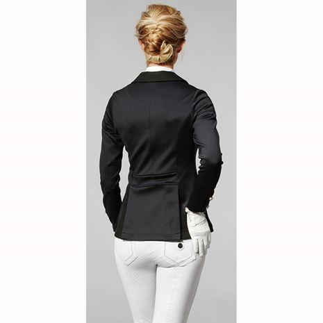 Mountain Horse Laurel Event Jacket - Black - Worn Rear View