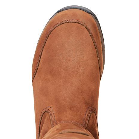 Ariat Men's Torridon GTX Insulated Boots - Bracken Brown - Toe Detail