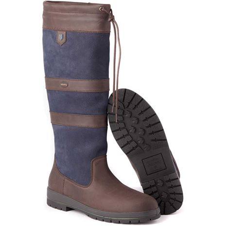 Dubarry Galway Boot - Navy/Brown