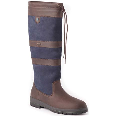 Dubarry Galway Boot - Navy /Brown