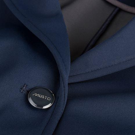Musto Prestige Windstopper Activeseam Show Jacket - True Navy - Button Detail