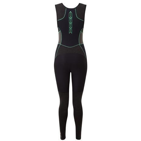 Gill Zentherm Women's Skiff Suit - Black - Rear