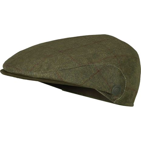 Harkila Stornoway Flat Cap - Willow Green