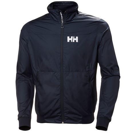 Helly Hansen Crew Windbreaker Jacket - Navy