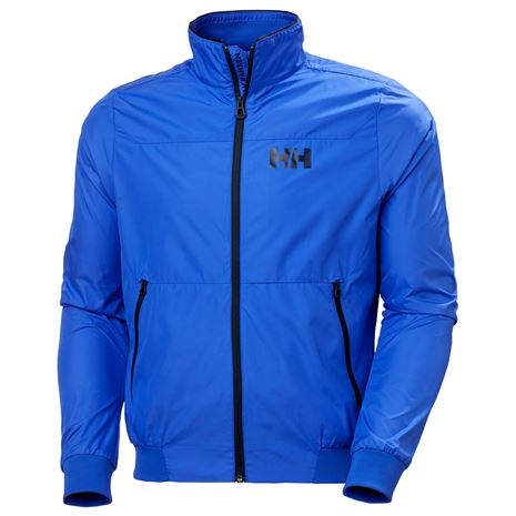 Helly Hansen Crew Windbreaker Jacket - Royal Blue