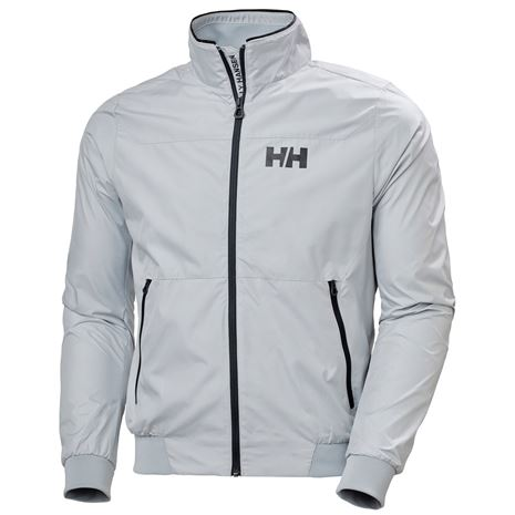 Helly Hansen Crew Windbreaker Jacket - Grey Fog