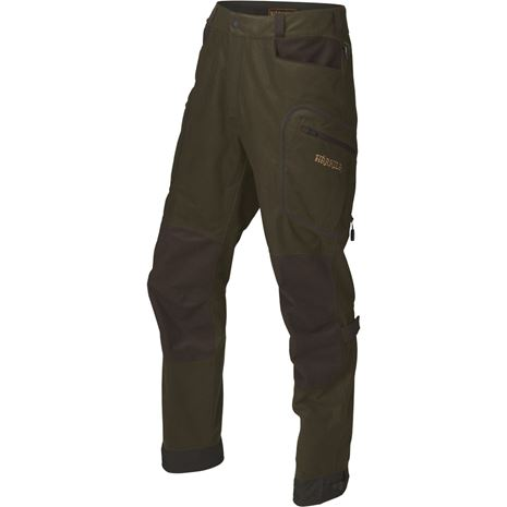 Harkila Mountain Hunter Trousers - Green/Shadow Brown