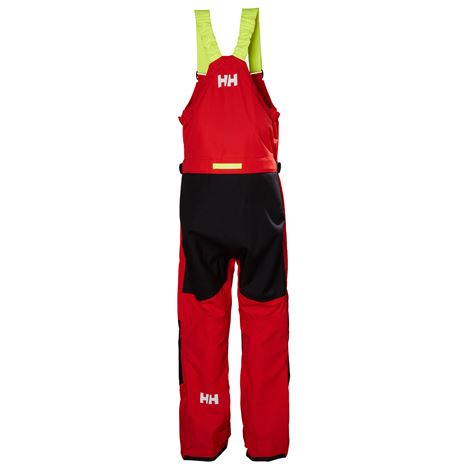 Helly Hansen Aegir Ocean Trousers - Alert Red - Rear