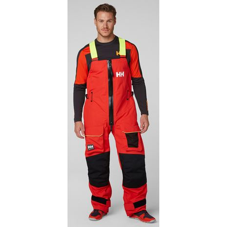 Helly Hansen Aegir Ocean Trousers - Alert Red
