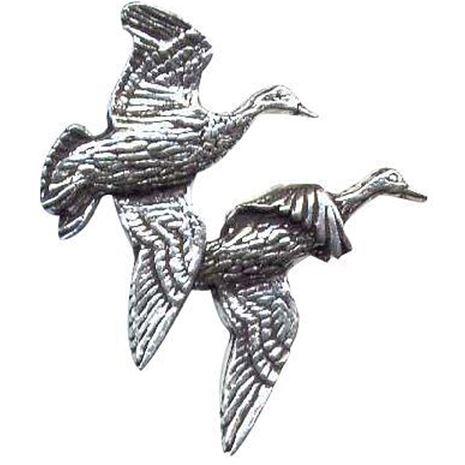 A.R & T.S Brown Bird Pewter Pins