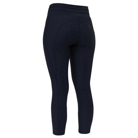 Dublin Performance Compression Tights - Navy - Rear