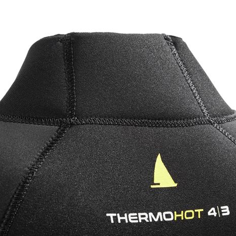 Musto Foiling Thermohot Long Sleeve Top - Dark Grey/Black