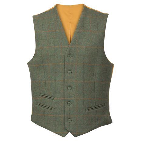 Alan Paine Combrook Gents Lined Back Waistcoat - Lovat