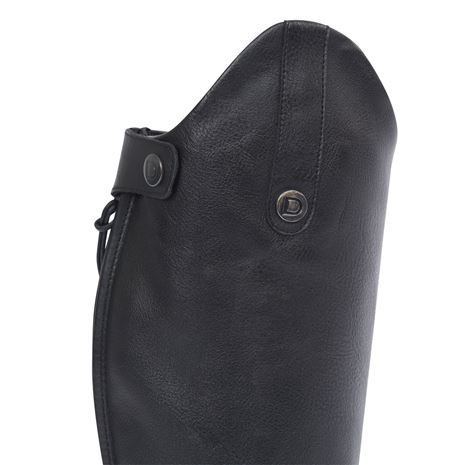Dublin Arderin Tall Dress Boots - Black - Top of the Boots