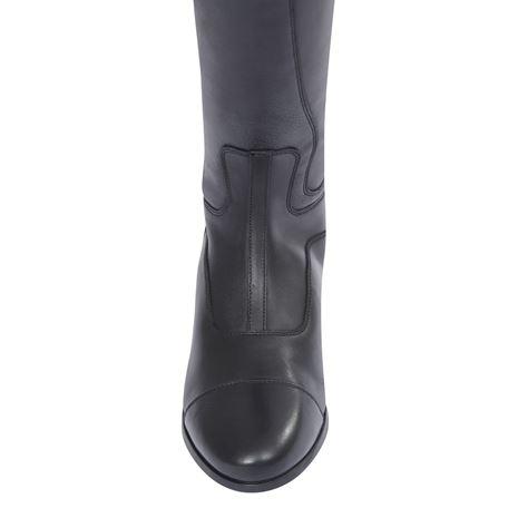 Dublin Arderin Tall Dress Boots - Black - Toe Detail