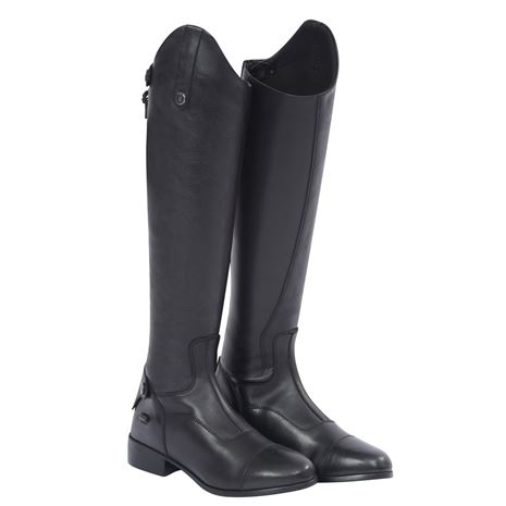 Dublin Arderin Tall Dress Boots - Black - Pair Front