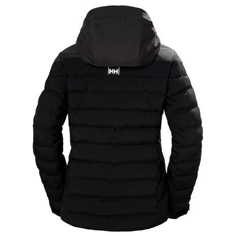 Helly Hansen Womens Imperial Puffy Jacket - Black - Rear