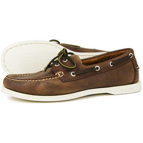 Orca Bay Maine Gents Deck Shoes - Russet