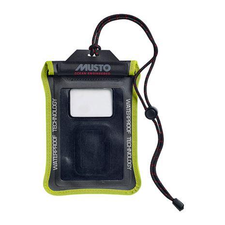 Musto Evolution Waterproof Smart Phone Case - Black