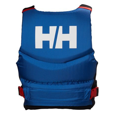 Helly Hansen Rider Stealth Zip Lifejacket - Olympian Blue - Rear