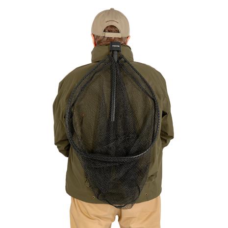 Snowbee Ranger Folding Head Landing Nets - Held on back