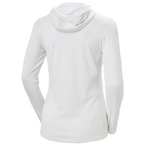 Helly Hansen Women's HH Lifa Active Solen Hoodie - White - Rear
