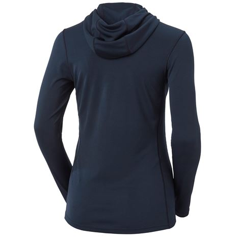 Helly Hansen Women's HH Lifa Active Solen Hoodie - Navy - Rear