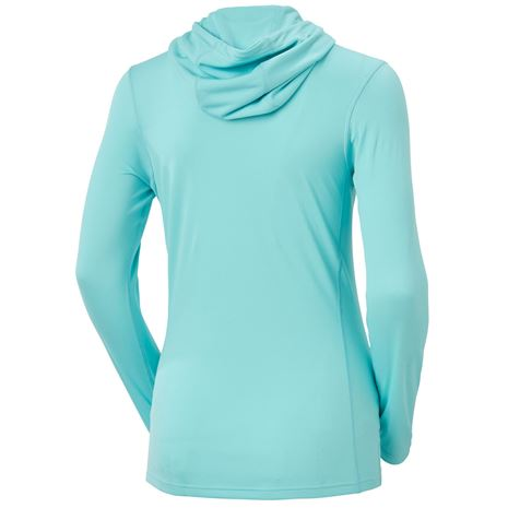 Helly Hansen Women's HH Lifa Active Solen Hoodie - Glacier Blue - Rear