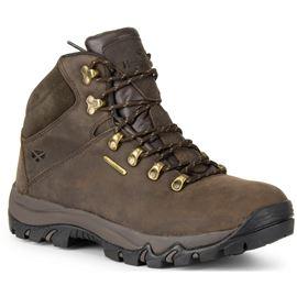 Hoggs of Fife Glencoe Waxy Leather Trek Boot - Brown