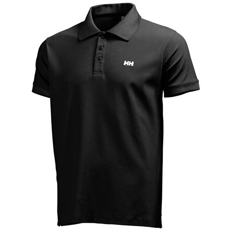 Helly Hansen Driftline Polo Shirt - Black