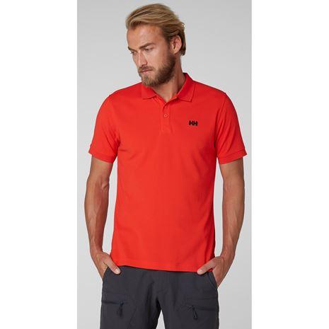 Helly Hansen Driftline Polo Shirt - Alert Red
