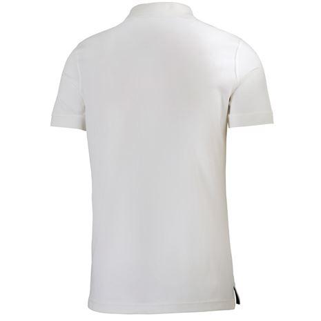 Helly Hansen Driftline Polo Shirt - White - Rear