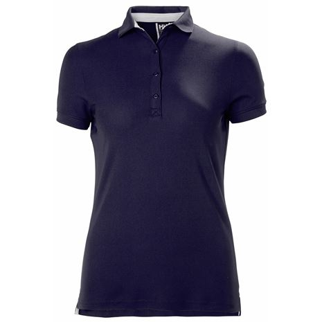 Helly Hansen Womens Crewline Polo Shirt - Navy