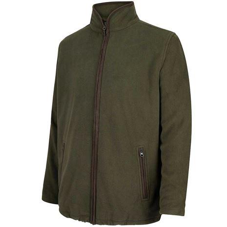 Hoggs of Fife Woodhall Fleece Jacket - Green