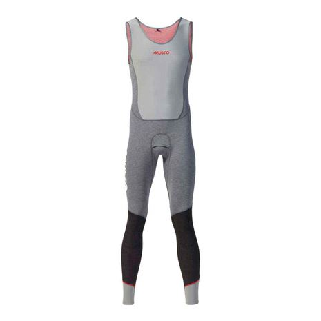 Musto Flexlite Vapour 1.0 Long John Grey Marle