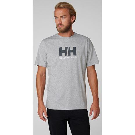Helly Hansen HH Logo T-Shirt - Grey Melange